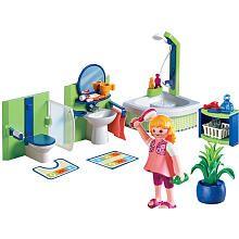 Playmobil Family Home Playset Family Bathroom Juguetes Casitas