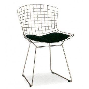 chaise design milano fil de fer | inspiration 21 rue jules verne ... - Chaise En Fil De Fer