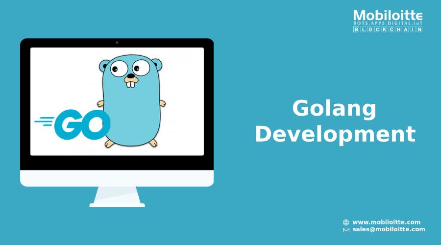 Mobiloitte offers Golang Development Services for custom