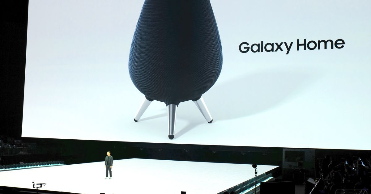 Samsung announces Galaxy Home speaker with Bixby smart ...