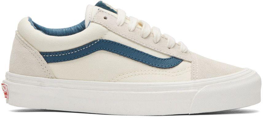 VANS Off White Og Old Skool Lx Sneakers. #vans #shoes