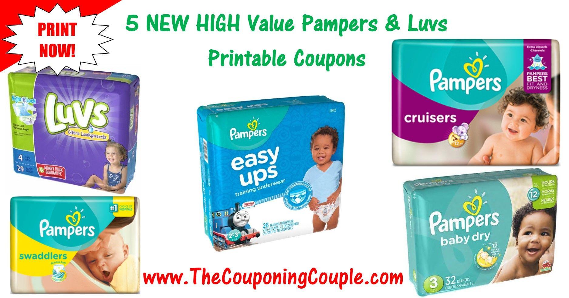 Pampers Printable Coupons  Print NOW  in Savings  Printable