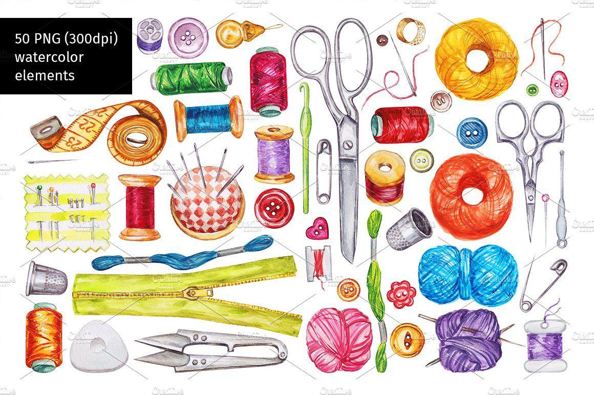 ادوات خياطة