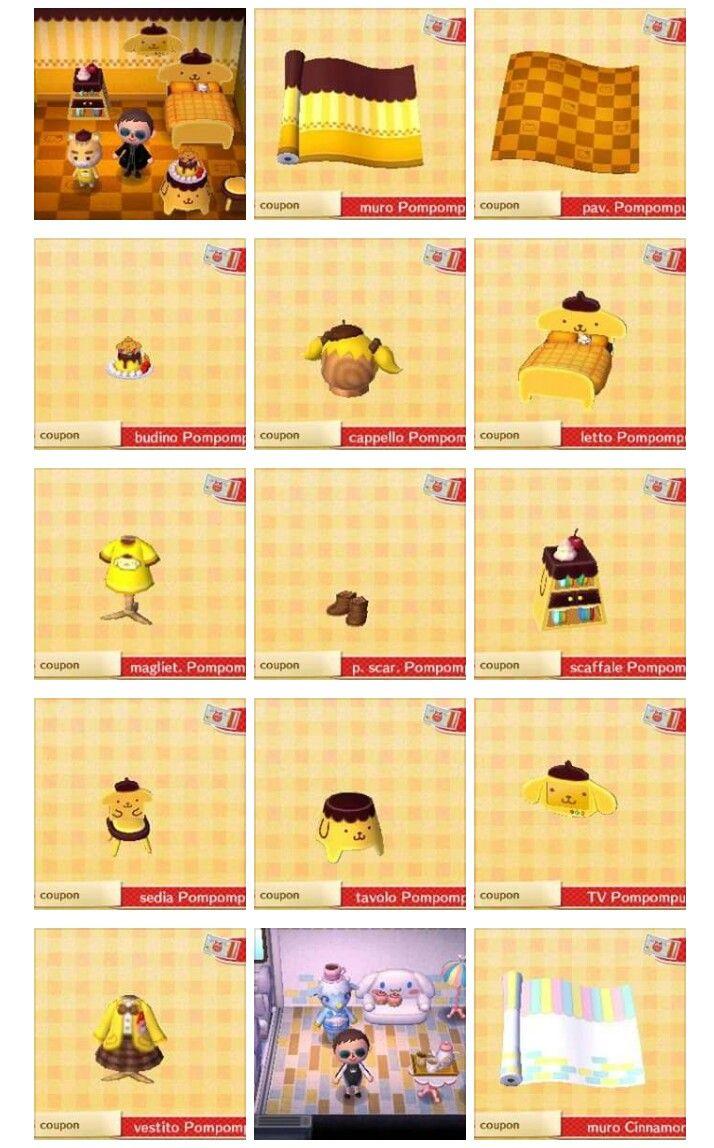 Amiibo cards Sanrio   acnl   Pinterest   Colección de muebles ...