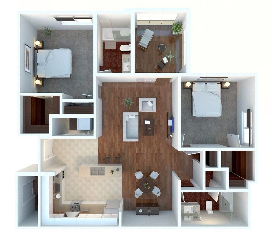 Pin by Frida Johansson on The Sims ♢ Pinterest 3d, Bedrooms
