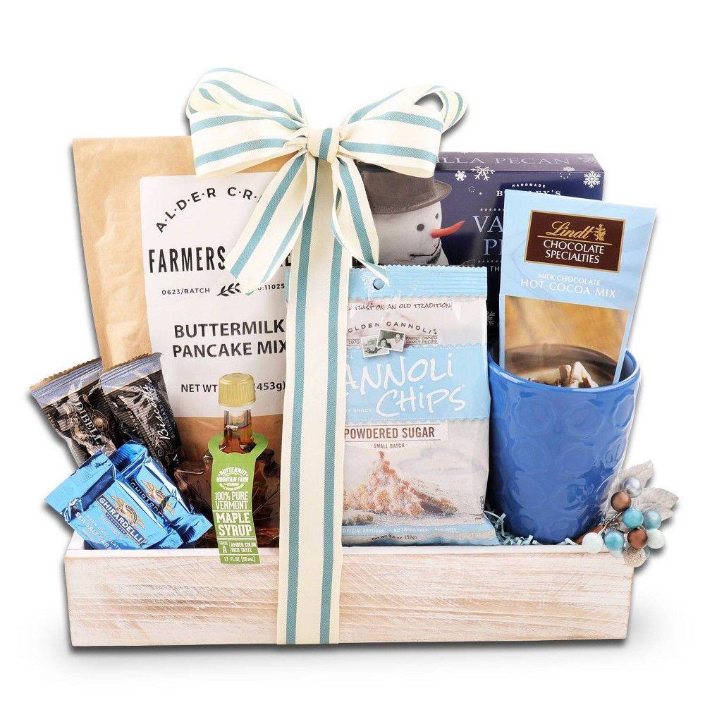 Christmas morning breakfast gift basket tray 4lb