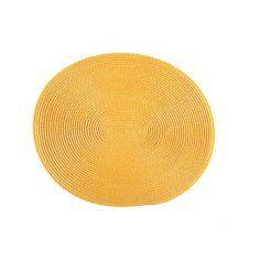 Lugar Americano Oval Amarelo - Today - Corttex