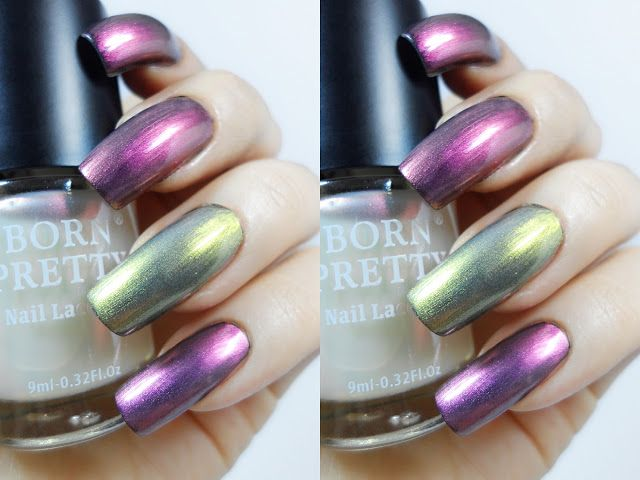 Iridescent Nail Polish Collection By Born Pretty Store | Review ...