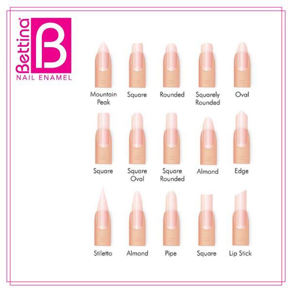 Hay distintos de estilos de uñas... ¿Cuál es tu corte de uñas ...