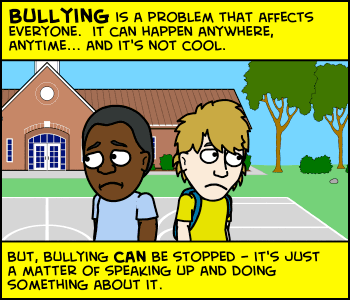 Kids Can Create A Comic Strip Online Through Cartoon Network S Stop Bullying Speak Up Comic Challenge Bullying Lessons Bullying Prevention Bullying