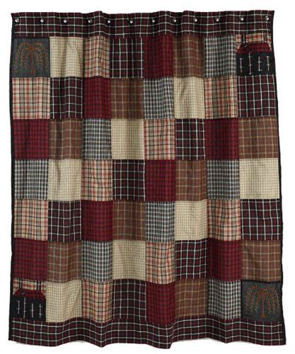 Quilt Lover Blog July 2012 Primitive Shower Curtains Primitive