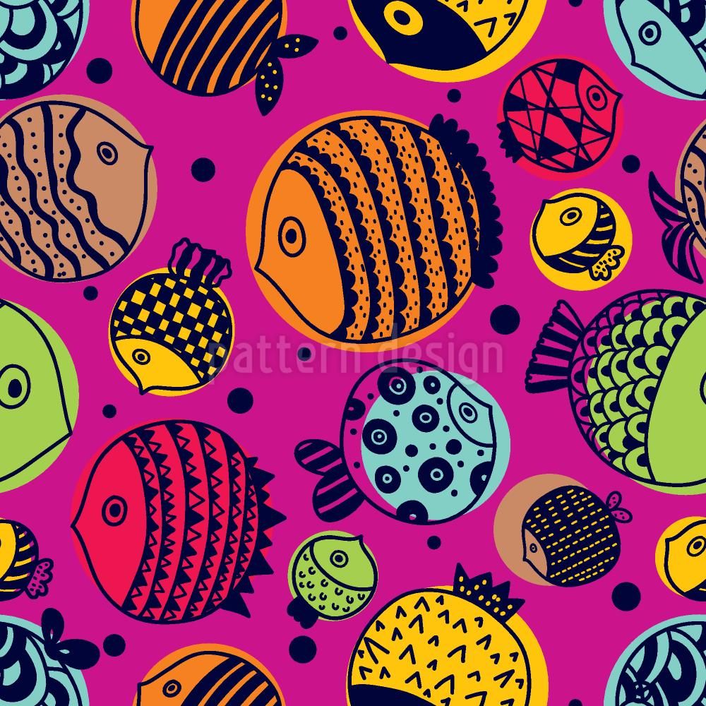 süße unterwasserwelt  umfärbbarer baumwollstoff viskose