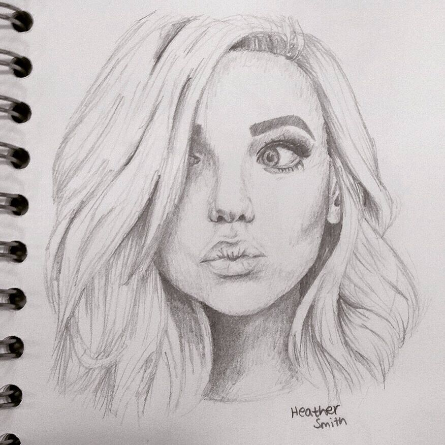 Amanda Steele Drawing Because I Love Her And Her Youtube Beauty Channel Art Sketches Realistic Drawings Art Drawings Sketches