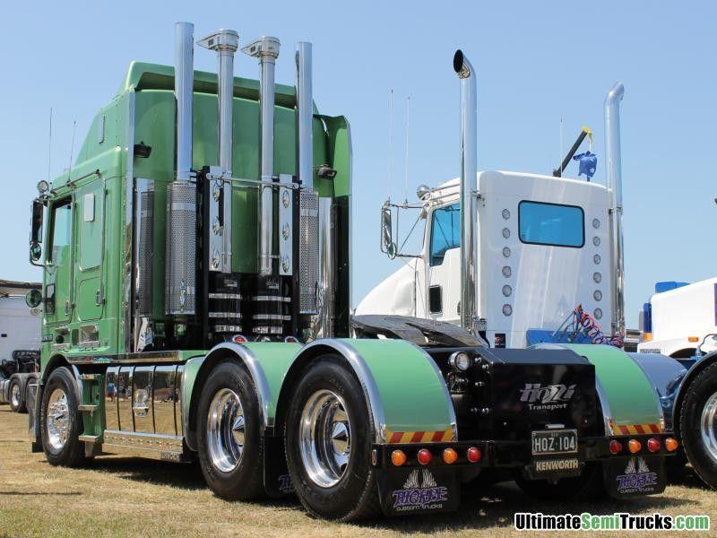 Hozzi K104 Kustom Rear End | Camionnette pick up | Pinterest | Kustom