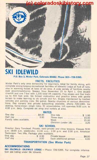 http://coloradoskihistory.com/images/idlewild_large_0018.jpg | Saturday Ski school. I learned on GLM skis!