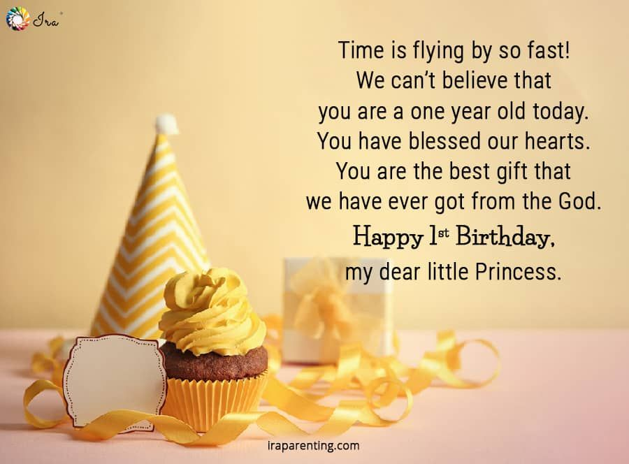 1st Birthday Wishes For Baby Girl Ira Parenting 1st Birthday Wishes Happy Birthday Girl Quotes Birthday Girl Quotes
