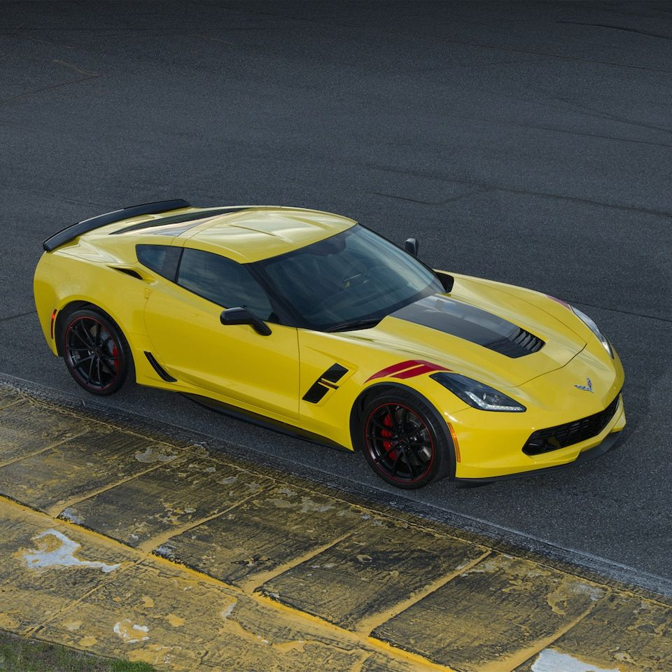 Antonio Garcia Edition Corvette grand sport, Corvette, Car