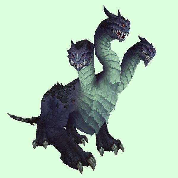 Purple Thunder Hydra Lion Sculpture Hydra Thunder