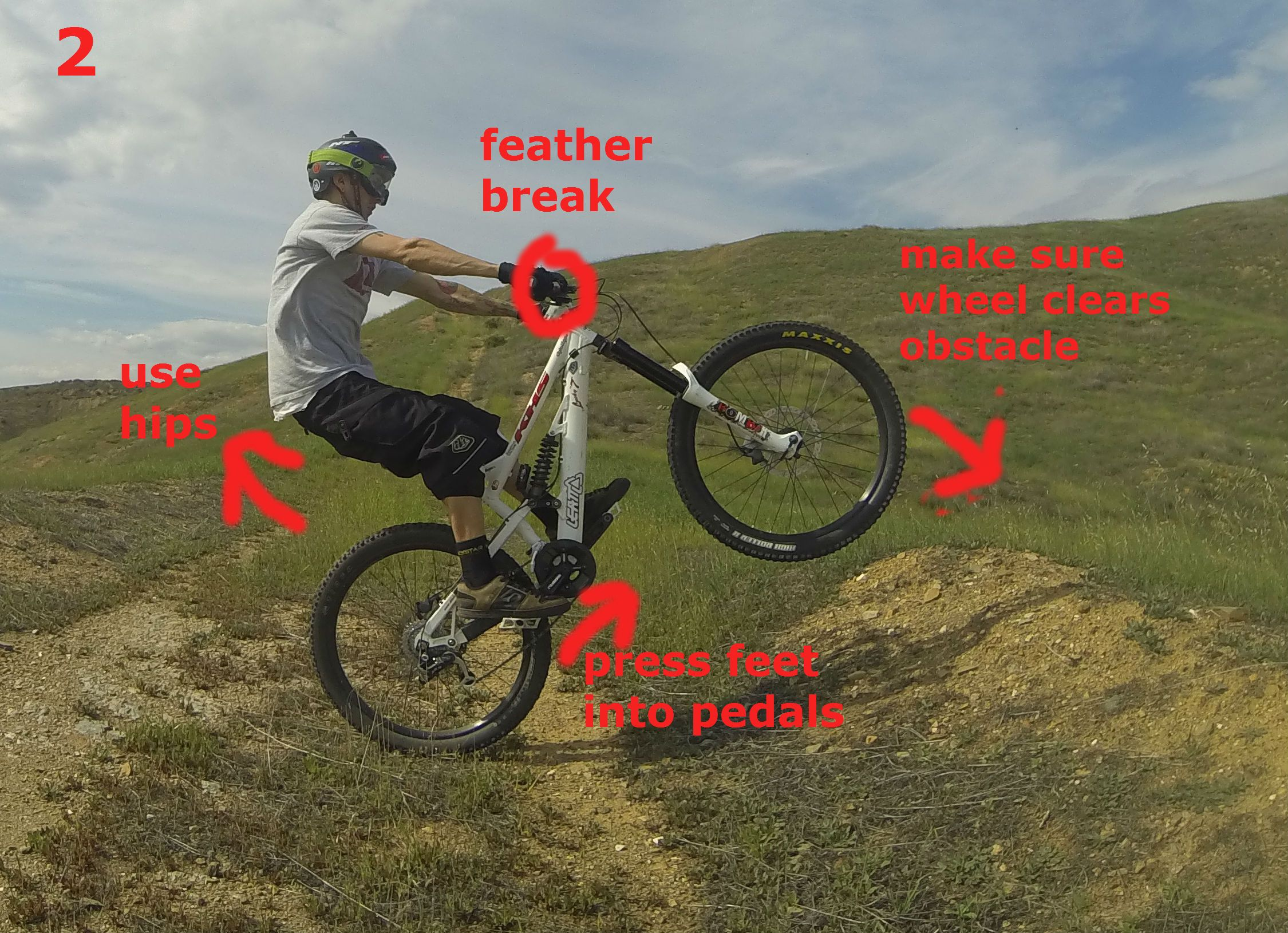 How To Manual Over Rollers And Obstacles Bike Riding Tips Riding Mountain Biking