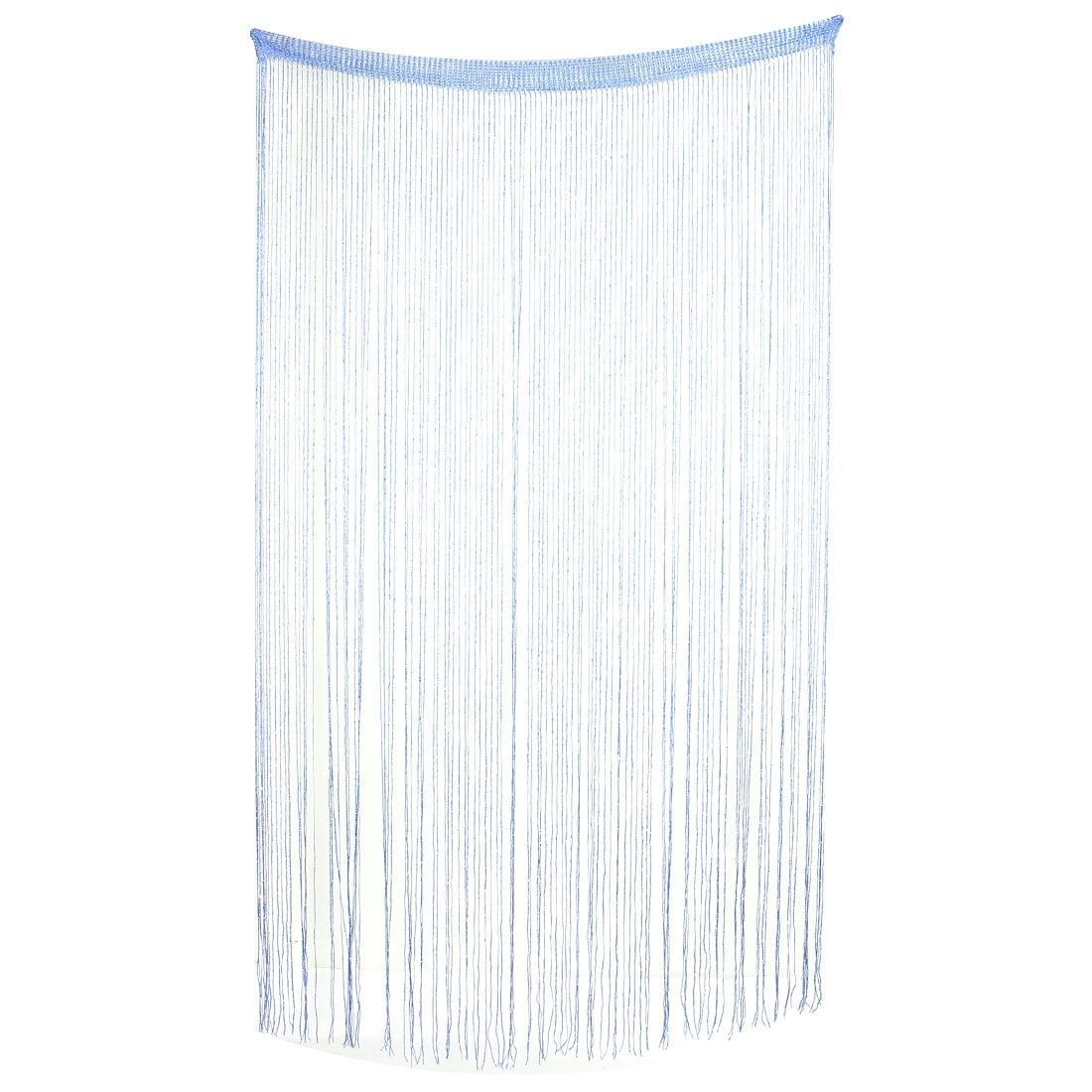 Household Door Window Sparkling Ribbon Flat Tassel String Curtain