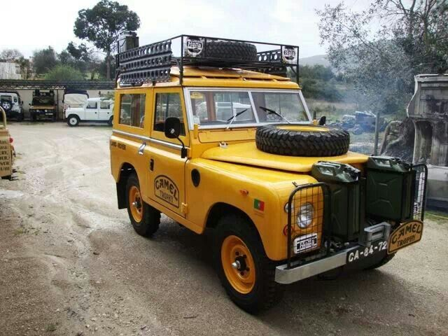 Pin On Camel Trophy Land Rovers