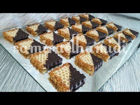 حلوة الشهدة او خلية النحلة بدون فرن Food Desserts Sweets