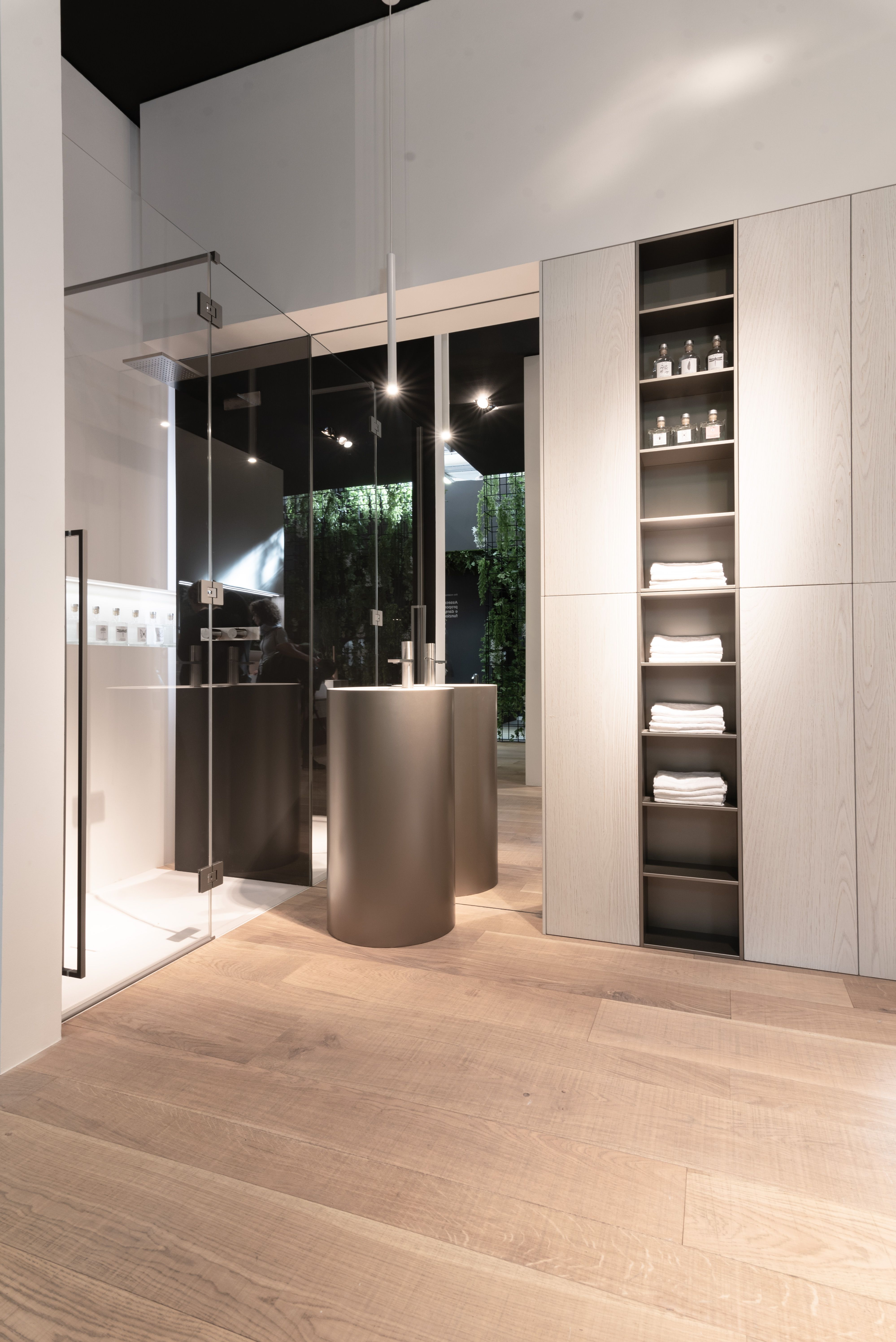 My Fly Mobili Bagno.With Theessenceofmaterials At Cersaie2018 Ideagroup Wishes