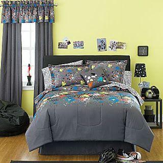 Paint Splatter Bed Set Splatter Bed In A Bag Accessories Complete Bedding Set Home Decor Bedding Set