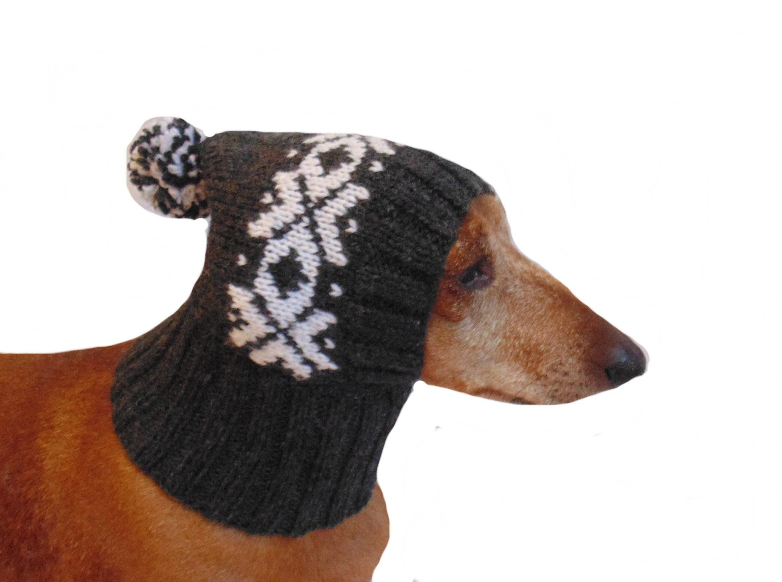 Winter Knitted Hat For A Small Dog Hat For Dogs Pet Clothes