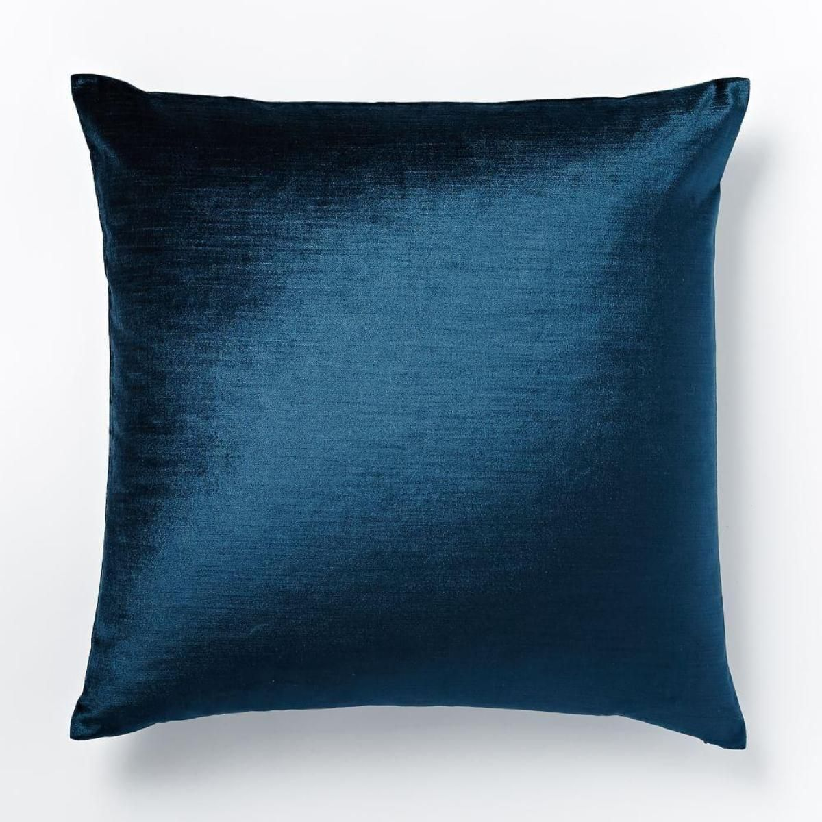 Cotton Lustre Velvet Cushion Cover - Regal Blue (20cm) | Exterior ...