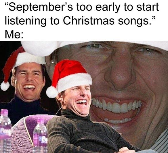 Christmas Music Meme.Because It S Never Too Early For Christmas Music