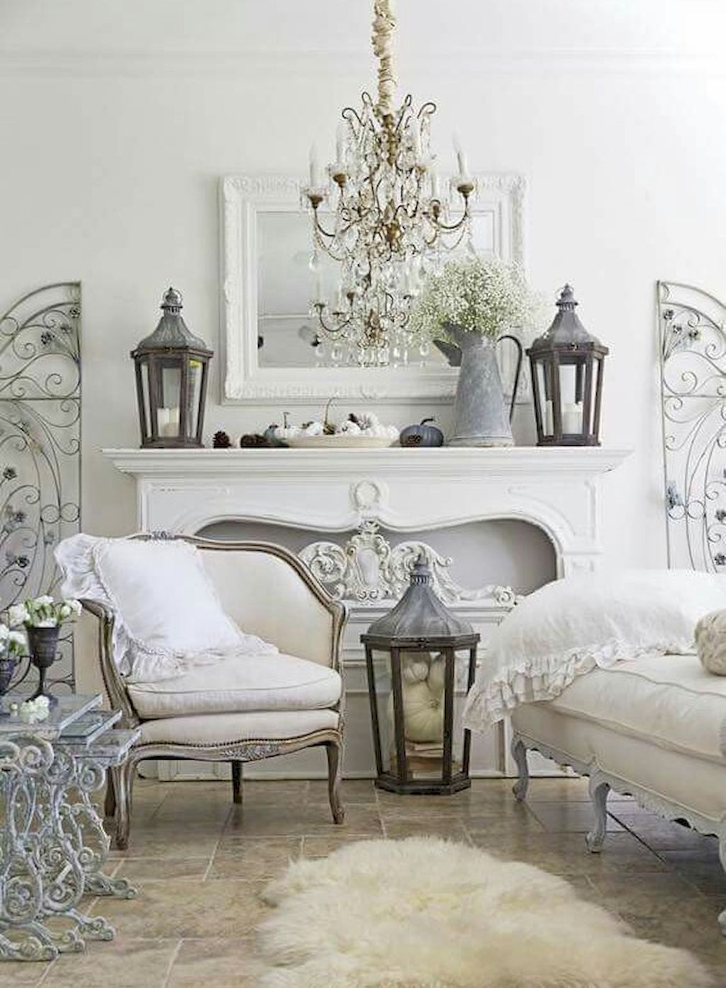 Shabby Chic Living Room Ideas (10 | Shabby chic living room, Chic ...