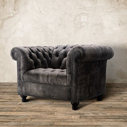 Berwick Tufted Leather Chair In Either Enviro Earth, Matador Walnut Or  Rustic Saddle.
