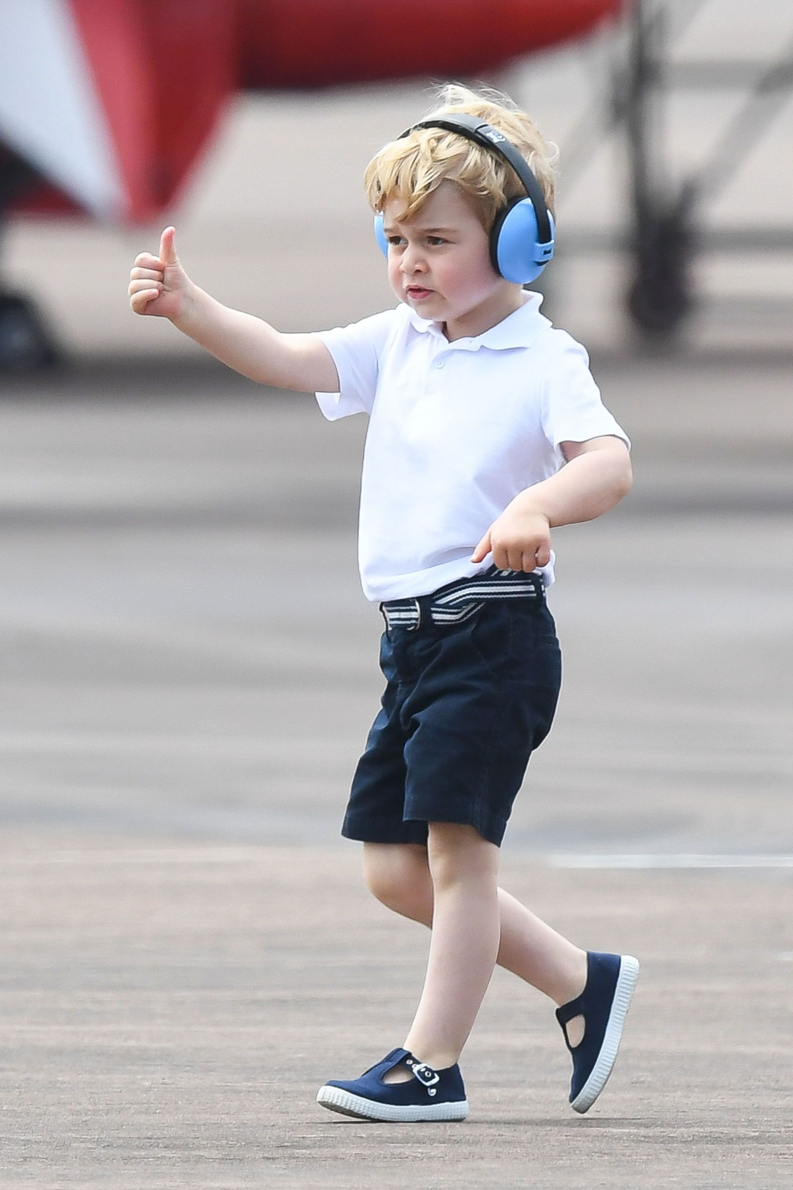 So This Is Why Prince George Is Always Wearing Shorts