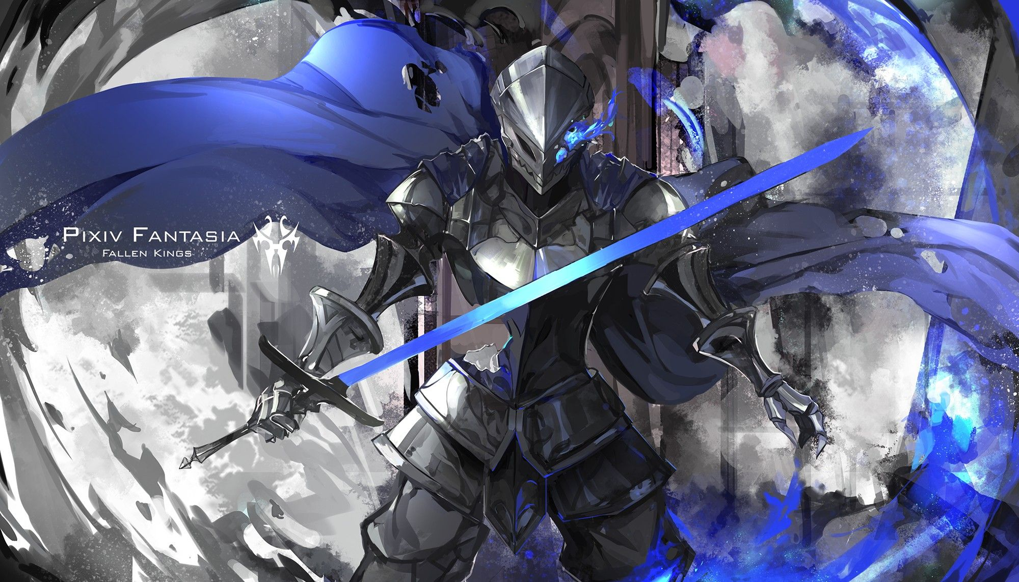 Anime 2000x1143 Pixiv Fantasia Fallen Kings Original Characters