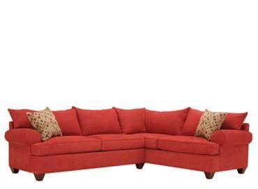 Vegas 2-pc. Microfiber Sectional Sofa