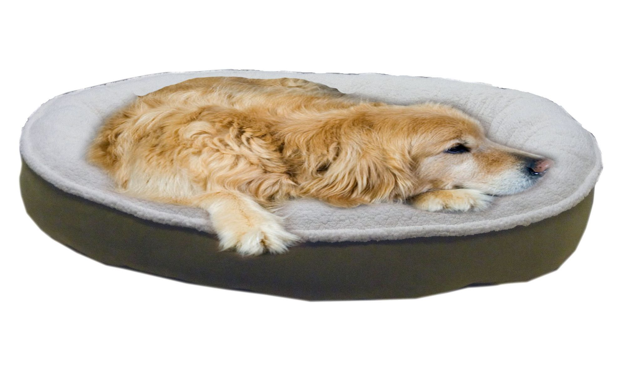 Cloud Sherpa and Faux Suede Comfy Cup Dog Pillow Pets