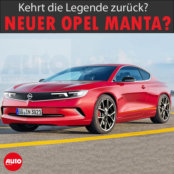 Opel Manta 2022 Erste Informationen Autozeitung De Opel Manta Manta Opel Gt