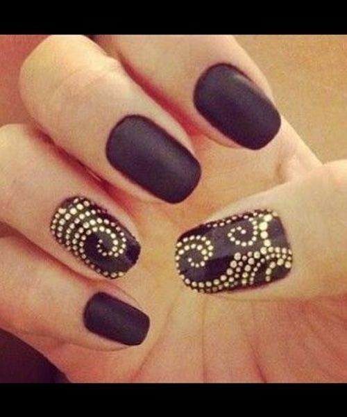 So Cute Unique Dotted Nail Art For Prom Fashion Trends Pinterest