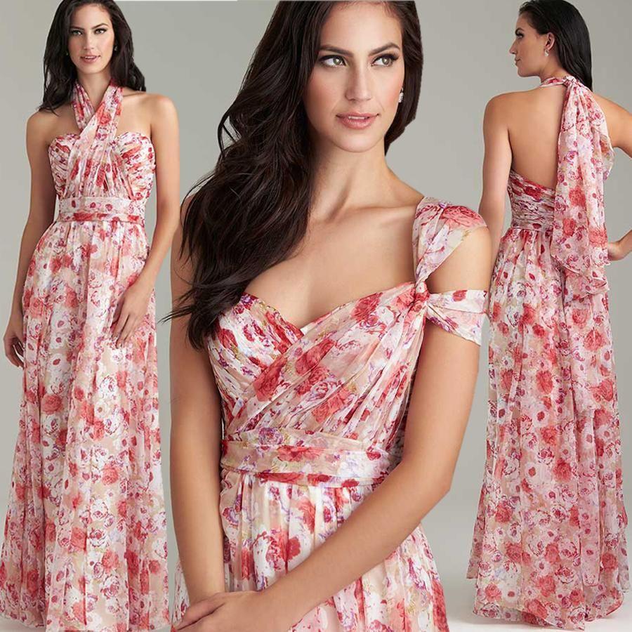 Bohemia floral pattern bridesmaid dresses long sweetheart a line bohemia floral pattern bridesmaid dresses long sweetheart a line convertible bridesmiad dresses cheap plus size bridesmaid ombrellifo Images