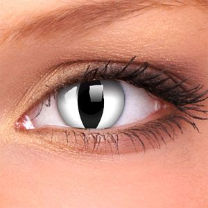 6a92c19b0dac snake eye contacts - Google Search
