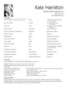Traditional Resume Examples | How To Stand Out In A Crowded Job Market Forget The Traditional