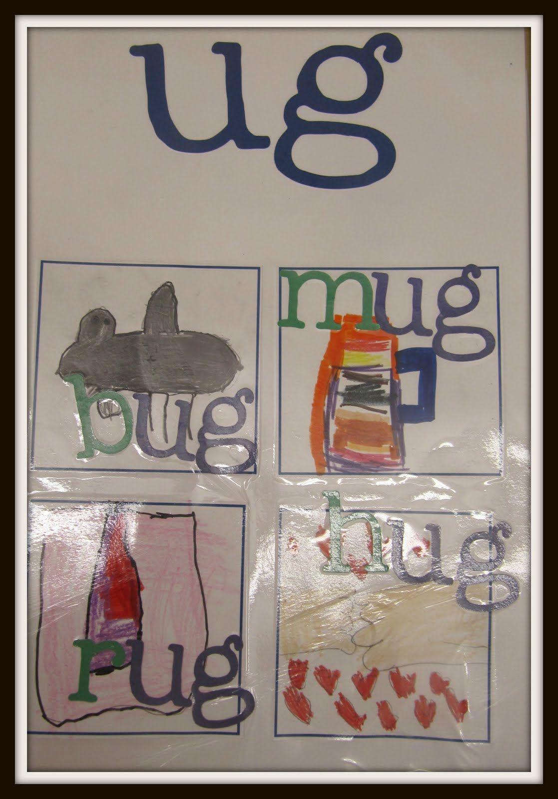 Joyful Learning In Kc Word Family Posters
