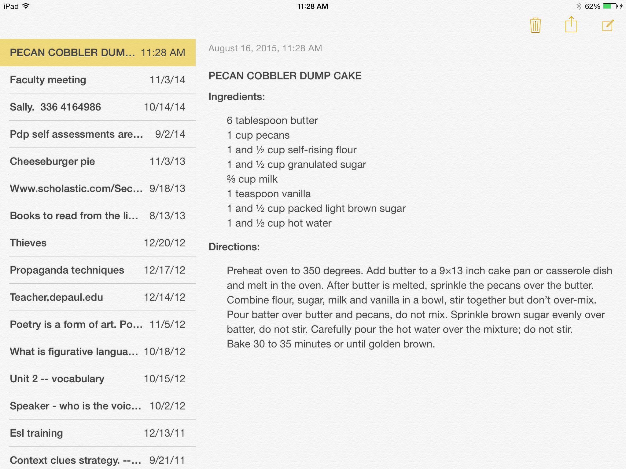 Pecan Cobbler Dump Cake Recipe