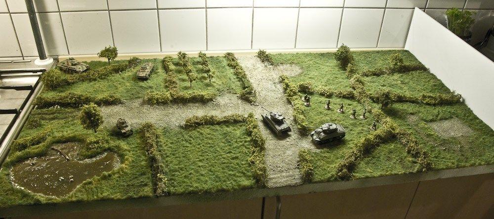 World War 2 Mandertory Miniatures resin 28mm Europe Emplacement set Bolt Action