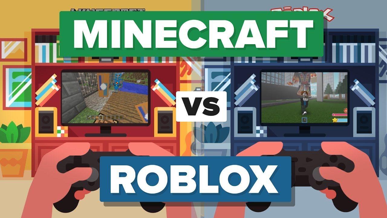 Minecraft Vs Roblox How Do They Compare Roblox Minecraft