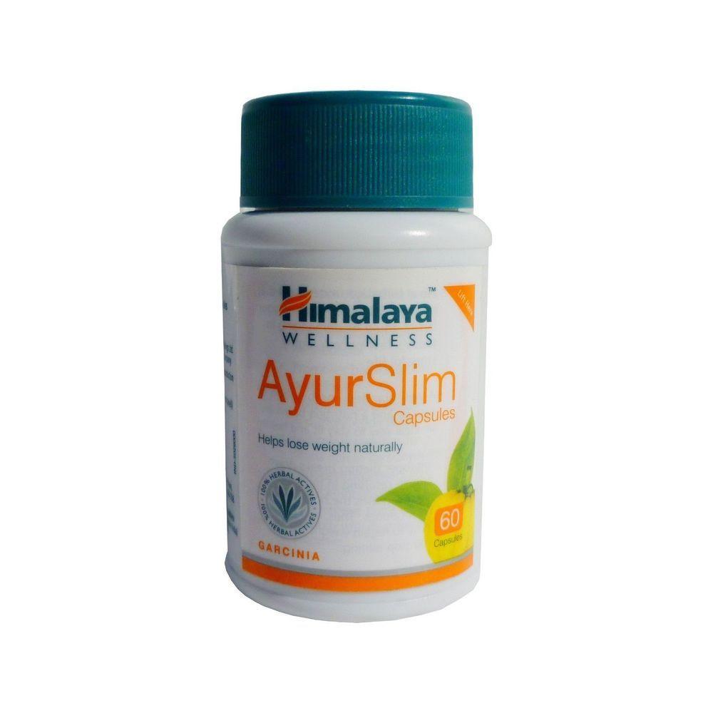 Himalaya Herbal Ayurslim 60caps Capsule Natural Fat Weight Loss