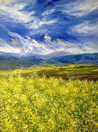 Glory Of Spring by Tim Howe Oil ~ 40 x 30