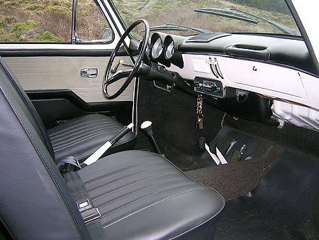 1965 Volkswagen VW Type III Squareback Interior