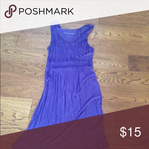 Dress Purple Calvin Klein dress xs small Calvin Klein Dresses Midi